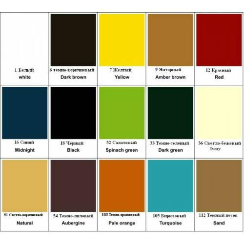 Краситель для гладкой кожи Tarrago Self Shine Color Dye, 500мл, 15 цветов
