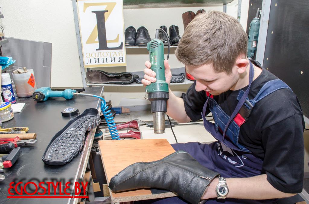 мастер по ремонту обуви в Минске